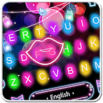 Colorful Sparkling Light Keyboard Theme for pc icon