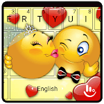 Cute Emoji Keyboard Theme icon