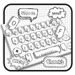 Fairy Doodle Style Keyboard Theme icon