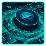 Fingerprint Style Keyboard Theme icon