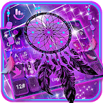 Purple Galaxy Dream Catcher Keyboard Theme icon
