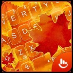 Golden Autumn Keyboard Theme icon