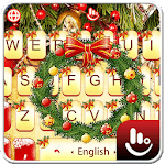 Golden Christmas Keyboard Theme icon