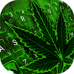 Green Rasta Weed Keyboard Theme icon