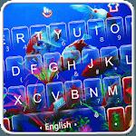 Live 3D Swimming Fish Keyboard Theme icon
