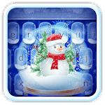 Live Christmas Snow Keyboard Theme for pc icon