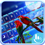Lovely Parrots Keyboard Theme icon