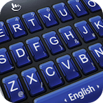 Navy Tinge Keyboard Theme icon