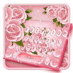 Beautiful Rose Water Drop Keyboard icon