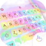 Rainbow Galaxy Keyboard Theme icon