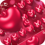 Red Heart Keyboard Theme icon