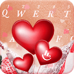Romantic Love Heart  Keyboard Theme icon