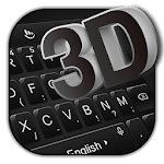 3D Simple Business Black Keyboard Theme icon