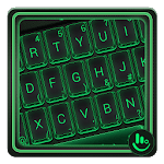 Simple Neon Green Keyboard Theme icon