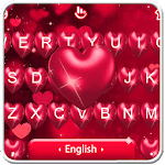 Sparkling Heart Love Keyboard Theme icon
