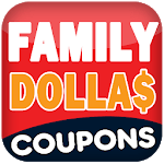 Coupons for Family Dollar : Smart Coupons Finder icon