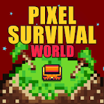 Pixel Survival World - Online Action Survival Game icon