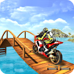 Crazy Bike Stunt Track icon