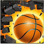 Basket Wall - Bounce Ball & Dunk Hoop APK icon