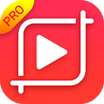 Crop video: Video cut & Video resizer APK icon