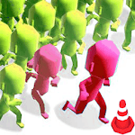 Crowd city : crowd in town icon