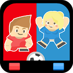 2 Player Sports Games - Paintball, Sumo & Soccer icon