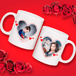 Couple Cup Photo Frame for pc icon