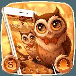 Cute Autumn Owl Theme icon