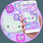 Cute Kitty Diamond Theme icon