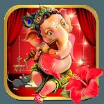 Red Cute Ganpati Bappa Theme icon