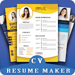 New CV maker 2019 icon