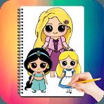 Drawing Cute Chibi Princess icon