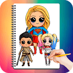 Drawing Cute Chibi Super Heroes icon