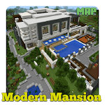 Modern Mansion Map for MCPE icon