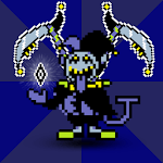 jevil clown - delta attack icon