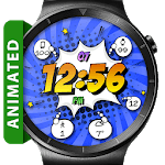 Comic Pow HD Watch Face Widget & Live Wallpaper icon
