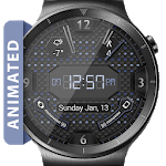 LED Hex HD Watch Face Widget & Live Wallpaper APK icon