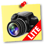NoteCam Lite - photo with notes [GPS Camera] icon