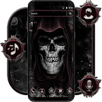 Devil Dark Skull Theme icon