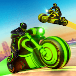 Light Bike Stunt Racing Game icon