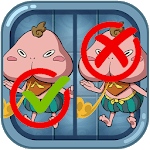 Find Differences 7 Yokai Photo APK icon