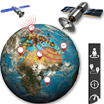 GPS Live Map Navigation - Earth Satellite View icon
