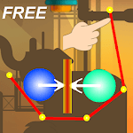Factory bump balls icon
