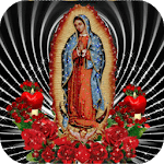 Virgin Of Guadalupe Red Roses Live Wallpaper icon
