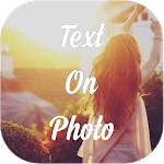 Text On Photo, Image - Picture Text Editor icon