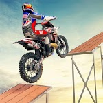 Impossible Ramp Moto Bike Tricky Stunts icon