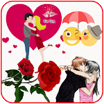 Kiss Me Love Stickers & emoji APK icon