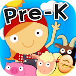 Animal Math Preschool Math Games for Kids Free App icon