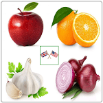 Vegetables and Fruits Vocabulary APK icon