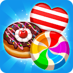 Best match 3 puzzle world : Candy Holic icon